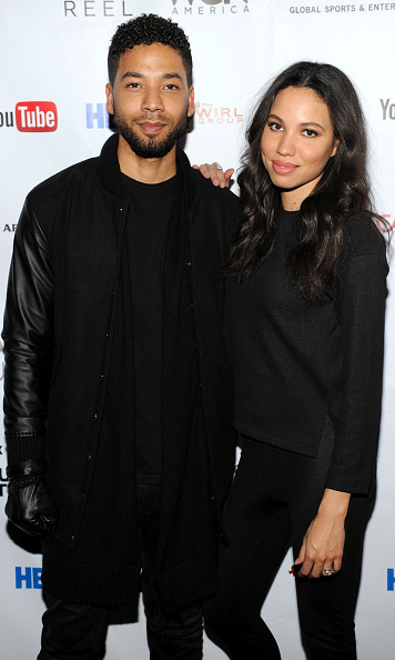 January 24: No sibling rivalry here! 'Empire' star Jussie Smollett supported his sister Jurnee Smollett-Bell at the premiere of her new WGN TV series 'Underground.'