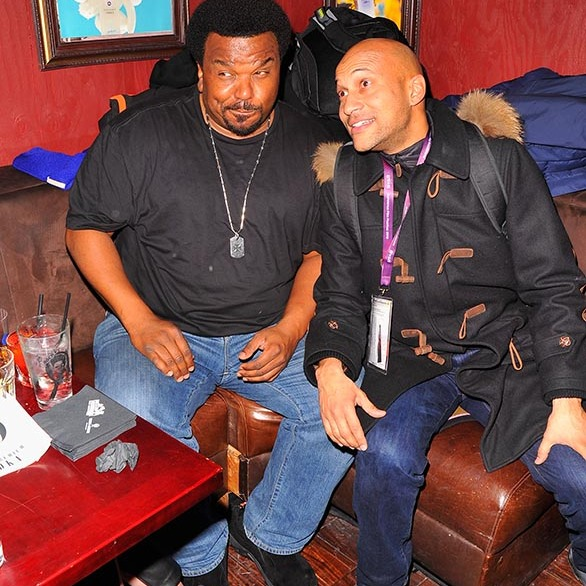 January 22: Lots of laughs! Craig Robinson and Keegan-Michael Key attended the official 'Morris from America' after party at Bar 53 At Rock & Reilly's and 50 Bleu Lounge during the Sundance Film Festival.