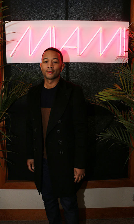 January 23: John Legend ​stopped by Barclaycard Arrival Presents 364 Main during Sundance Film Festival. 