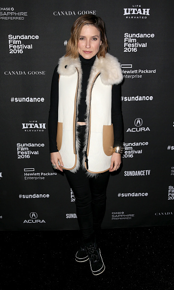 January 24: Sophia Bush looked winter chic during the A Celebration of Music in Film event presented by CanadaGoose during the Sundance Film Festival. 