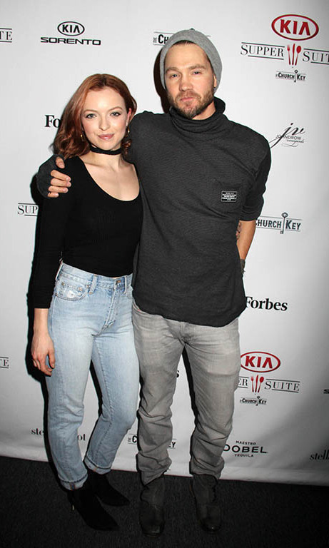 January 24: Chad Michael Murray and Francesca Eastwood 