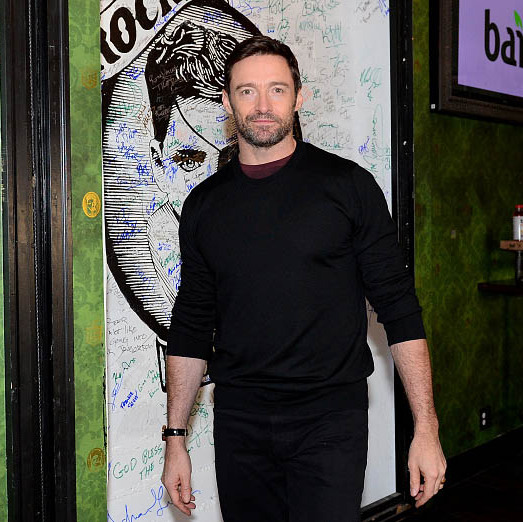 January 26: Hugh Jackman attended the Bai Lunch to  celebrate 'Eddie The Eagle' at Rock & Reilly's during the Sundance Film Festival. 