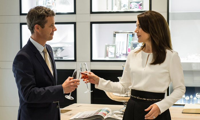 <B>CROWN PRINCESS MARY AND CROWN PRINCE FREDERIK OF NORWAY</B>