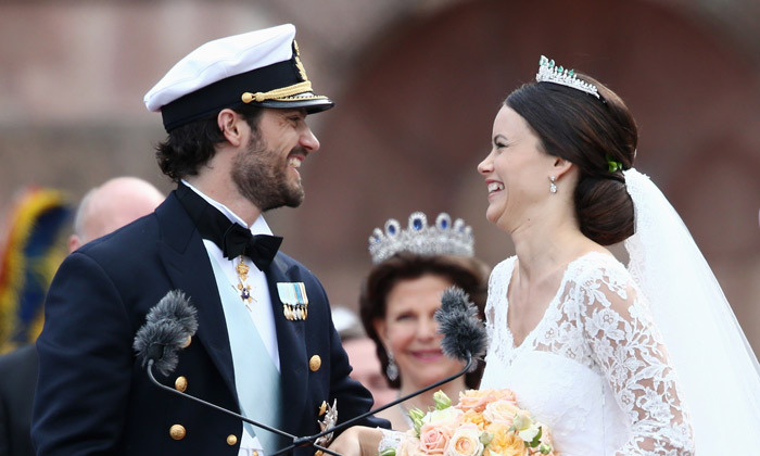 <B>PRINCESS SOFIA AND PRINCE CARL PHILIP OF SWEDEN </B>