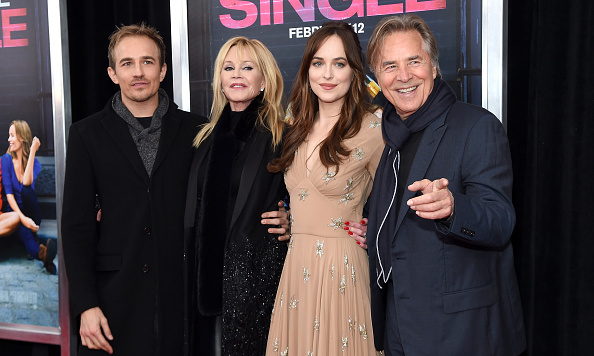 friendly exes melanie griffith and don johnson support