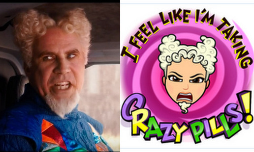 Maybe we're all on crazy pills, but Mugatu's avatar is a dead ringer for the 'Zoolander' villain.