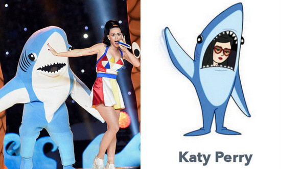 Remember when Katy Perry's left shark stole the show at  Super Bowl XLIX's halftime show? Only fitting that viral pop culture moment received its own avatar.
