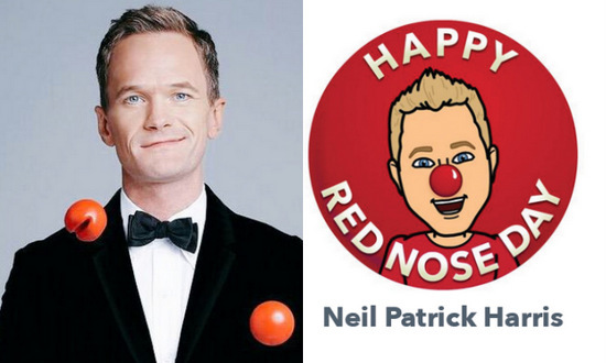 Neil Patrick Harris' Red Nose Day avatar is Legen...Wait for it...Dary.