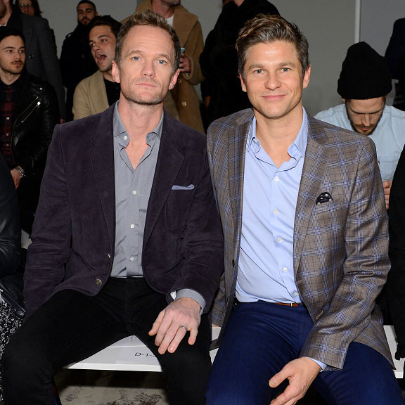 February 2:  Neil Patrick Harris and David Burtka did date night in style at the Ovadia & Sons during NYFM in NYC. 