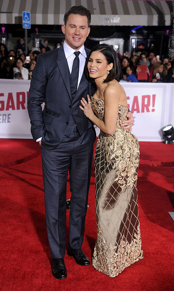 February 1: A little romance and a lot of fun! Channing Tatum and Jenna Dewan-Tatum were the perfect pair at the 'Hail Caesar' premiere in Westwood, California. 