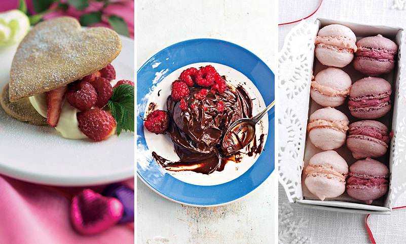Whether it's something to share, a show-stopping dessert or a simple sweet treat, these deliciously tempting desserts will wow your someone special this Valentine's Day
