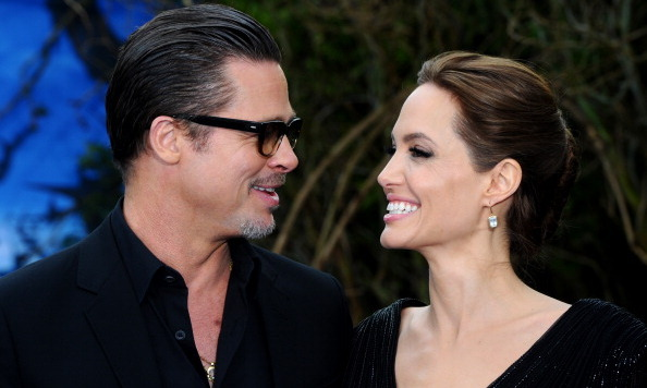 <b>Angelina Jolie and Brad Pitt</b>