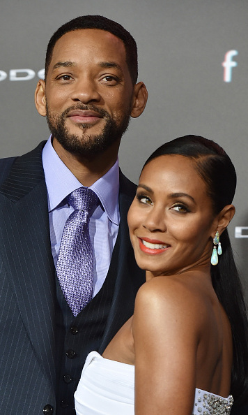 <b>Will Smith and Jada Pinkett Smith</b>