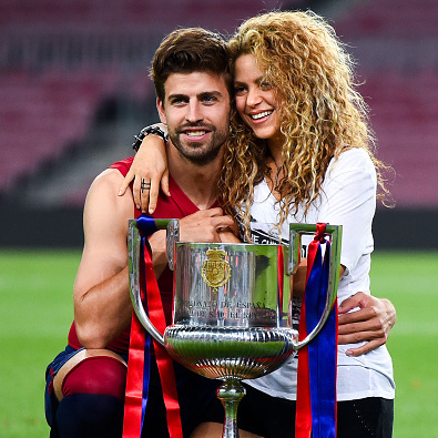 <b>Shakira and Gerard Piqué</b>
