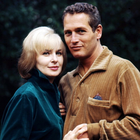 <b>Joanne Woodward and Paul Newman</b>