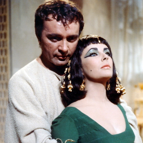 <b>Richard Burton and Elizabeth Taylor</b>