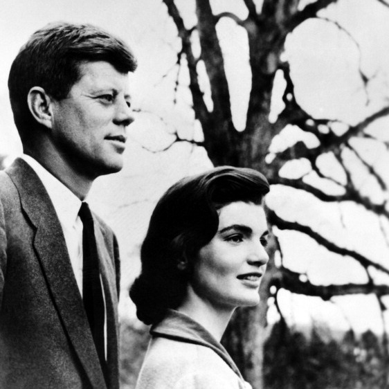 <b>John F. Kennedy and Jackie Kennedy</b>