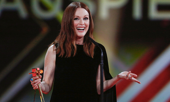 February 6: Julianne Moore scored Best International Actress at the Goldene Kamera Awards in Hamburg, Germany.
