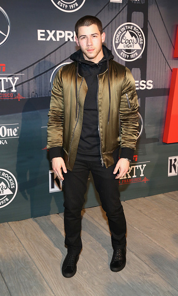 Nick Jonas attended the ESPN The Party in San Francisco, California.