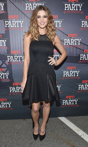 Also hitting up the ESPN party was 'Twilight' star Ashley Greene.
