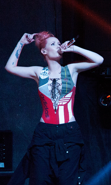 Iggy Azalea took to the stage at the Sports Illustrated Friday Night Party in San Francisco.