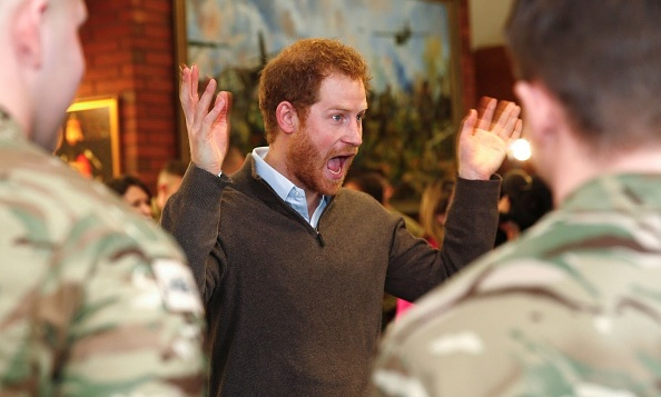 Prince Harry raised spirits as he met with soldiers in Blackpool, England. The members of the 2nd Battalion were deployed to the areas of Lancashire, Yorkshire and Cumbria to aid recovery work after devastating floods. 