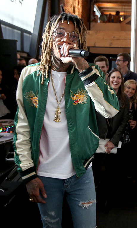 Wiz Khalifa brought the house down during the Fanatics Super Bowl Party at 25 Lusk in San Fransisco. 