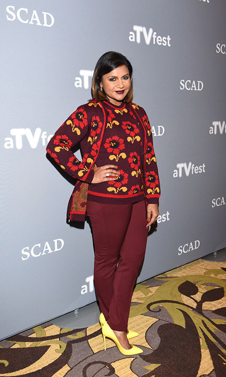 February 6: Mindy Kaling attended the SCAD 4th annual aTVfest in Atlanta, Georgia. 