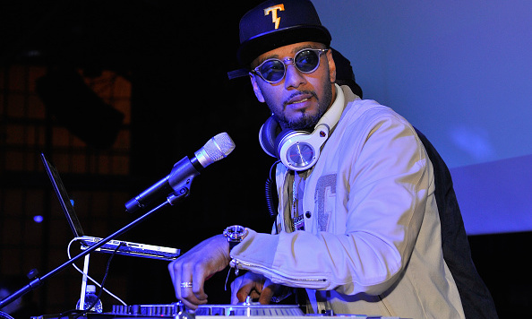 February 6: It's showtime!  Swizz Beatz performed during Pepsi's Kola House Celebration at Pier 70 during Super Bowl 50 Weekend in San Fransisco. 