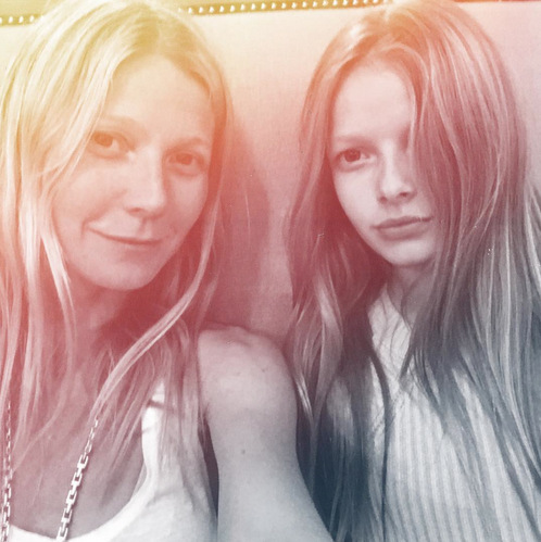 <b>Gwyneth Paltrow and Apple Martin</b>