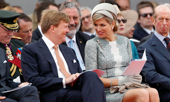<B>QUEEN MAXIMA AND KING WILLEM-ALEXANDER OF THE NETHERLANDS</B>