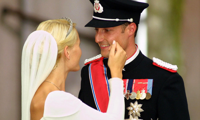 <b>CROWN PRINCESS METTE-MARIT AND CROWN PRINCE HAAKON OF NORWAY</B>