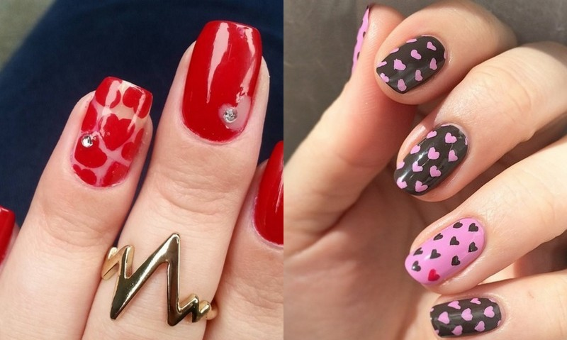 It's the season of love, and these nail designs are right on time. Get into the Valentine's Day spirit with these love-inspired designs.
