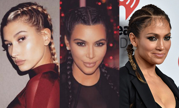 Kim Kardashian isn't the only celebrity in Hollywood rocking the braid trend.  While Kanye West's wife recently discovered her flair for the hairstyle, other celebrities have already experimented with braided hairdos. Click through to see stars who have worn braided styles in the past.