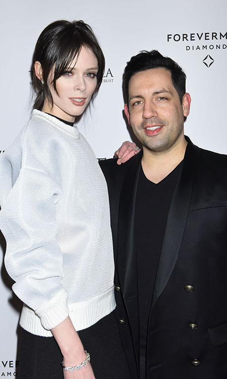 February 11: Model for a cause! Coco Rocha and James Conran lit up the room during the Forevermark Dinner Benefitting Rhino Rescue Botswana in NYC. 
