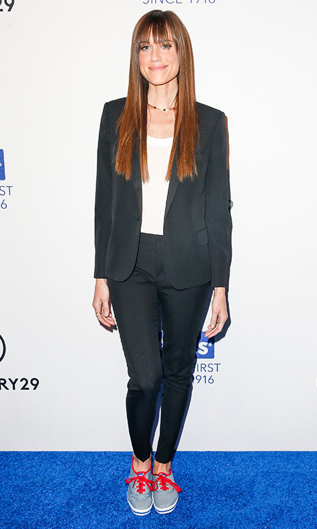 February 10: Allison Williams celebrated the Keds Centennial with Ciara and Refinery29 in NYC. 