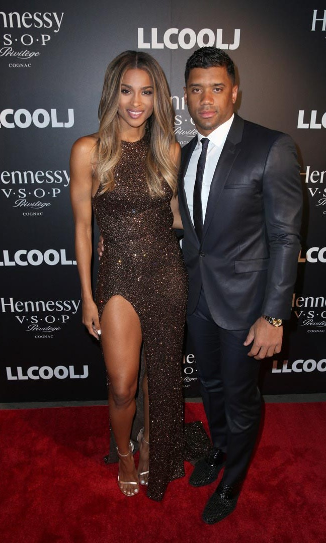 Ciara and Russell Wilson turned heads at the Hennessy V.S.O.P Privilege pre-GRAMMY dinner at Ysabel.