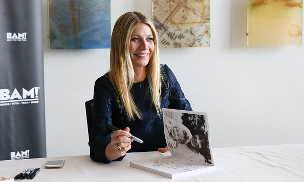 February 12: Book it! Gwyneth Paltrow signed copies of her book 'It's all Good' during the the 2016 Antiques and Garden show of Nashville at Music City Center.