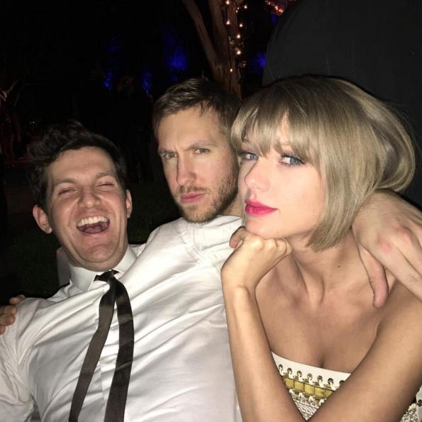 Dillon Francis got a little carried away while he partied with Calvin Harris and Taylor Swift. 