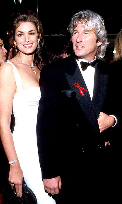 Of course, it's not just Cindy's career that has brought her fame: her two marriages to charismatic men have also been noteworthy. The first, from 1991 to 1995, was to Richard Gere, fresh from the success of <I>Pretty Woman</I>.