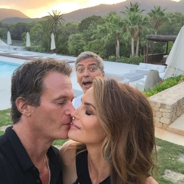 Together Rande and Cindy have become one of today's most alluring couples, their life seemingly an endless whirl of Instagram photo ops, played out from luxury homes in Cabo San Lucas, where George and his wife Amal are neighbors, to lakeside Ontario in Canada.