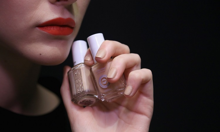 Proenza Schouler's fall 2016 fashion show featured a warm, camel-hued neutral tone, which gave off a satin-matte texture, created by Julie Kandalec for essie. 