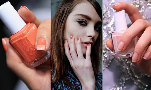 Not only were models like Kendall Jenner modeling some of the season's hottest fashions on the catwalk, but also some of the biggest nail trends from edgy to feminine. Fresh off the runway here are your New York Fashion Week nail looks.