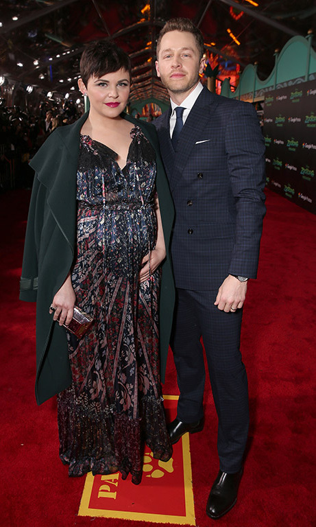 February 17: Baby on board! Ginnifer Goodwin and Josh Dallas were charming parents-to-be during the 'Zootopia' premiere in Hollywood. 