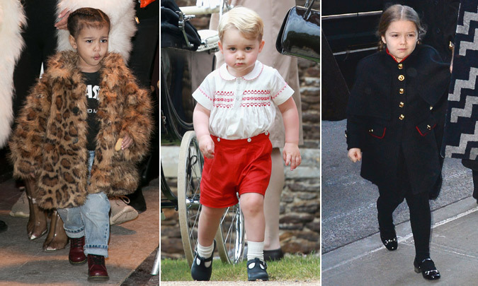 North West Harper Beckham Shiloh Jolie Pitt And More Tiny Trendsetters Hello Us