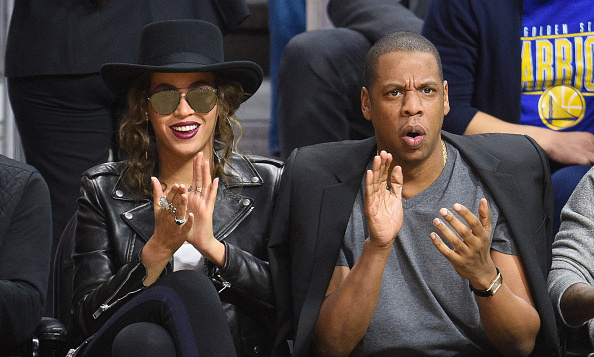 February 20: Beyonce and Jay Z made the L.A. Clippers game against the Golden State Warriors their date night.