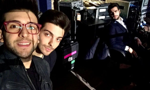 February 17: Il Volo brought down the house during their concert at the Barclays Center in Brooklyn. 