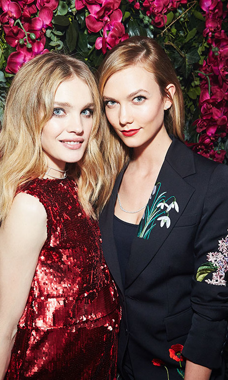 February 20: Camera ready! Natalia Vodianova and Karlie Kloss co-hosted the Naked Heart Foundation's Fabulous Fund Fair sponsored by euphoria Calvin Klein in London. 