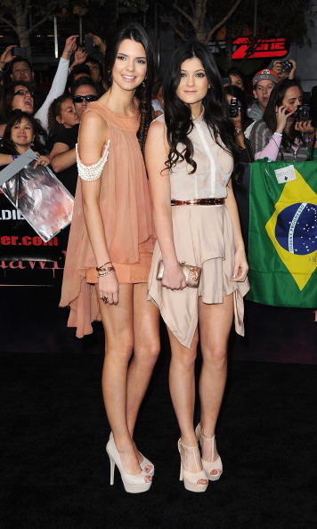 At the 2011 premiere of the first <i>Twilight</i> film, the sisters wore matching draped dresses in similar hues.