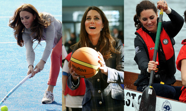 Kate Middleton knows how to rock a bespoke gown and tiara, so it's no surprise the mom-of-two looks just as stylish when playing sports. The royal has demonstrated her athletic skills on numerous occasions proving she can get down and competitive (even in heels!) so we've rounded up some of the Duchess of Cambridge's sportiest moments. Click through to see!